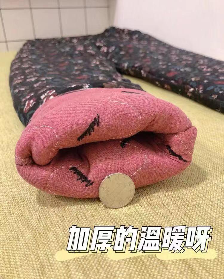 【羊驼绒】中老年加绒加厚棉裤