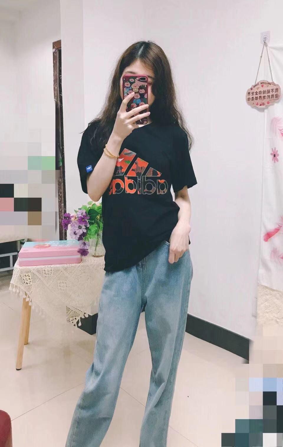 【三标齐全】大牌明星同款情侣纯棉T恤